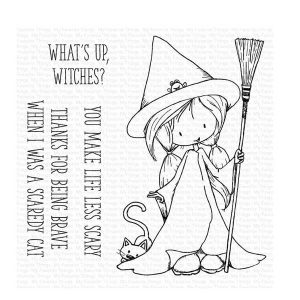 My Favorite Things TI Sweet Little Spell Stamp Set
