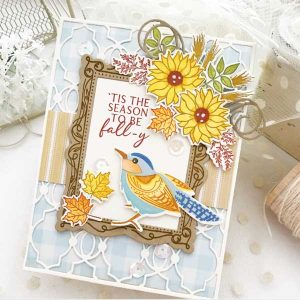 Papertrey Ink Feathered Friends Mini 14 Stamp class=
