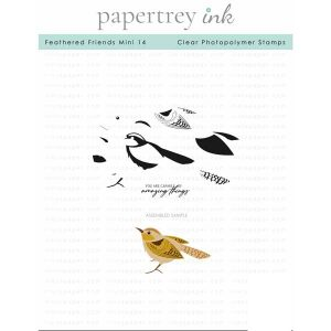 Papertrey Ink Feathered Friends Mini 14 Stamp