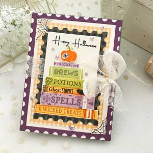 Papertrey Ink Storybook Halloween Stamp class=