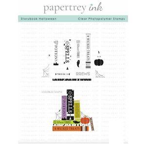 Papertrey Ink Storybook Halloween Stamp