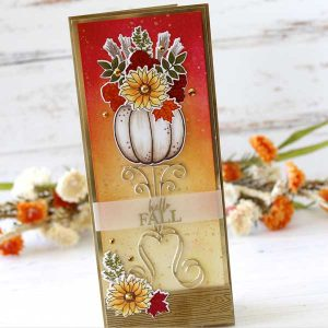 Papertrey Ink Fall Bouquet Stamp class=