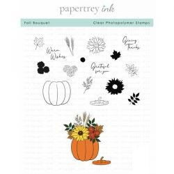 Papertrey Ink Fall Bouquet Stamp