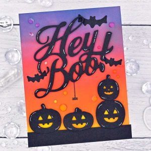 Papertrey Ink Pumpkin Party Stamp class=