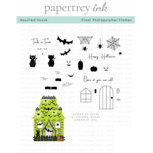 Papertrey Ink Haunted House Stamp