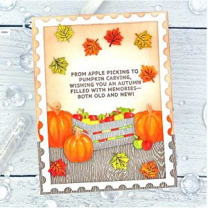 Papertrey Ink Inside Greetings: Fall Stamp class=