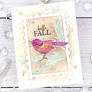 Papertrey Ink Feathered Friends Mini 14 Die class=