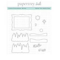 Papertrey Ink Scene Everywhere: Winter Die