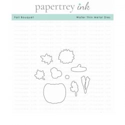 Papertrey Ink Fall Bouquet Die