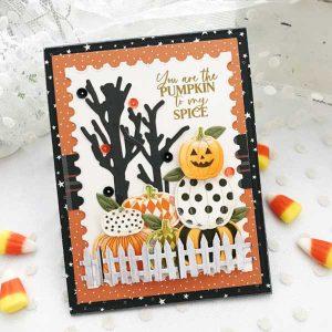Papertrey Ink Pumpkin Party Die class=