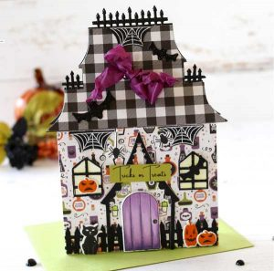 Papertrey Ink Haunted House Die class=