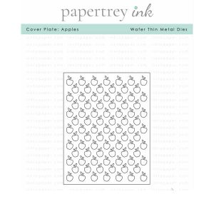 Papertrey Ink Cover Plate: Apples Die