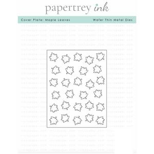 Papertrey Ink Cover Plate: Maple Leaves Die