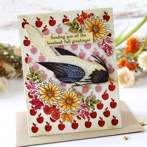 Papertrey Ink Feathered Friends 14 Die class=