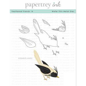 Papertrey Ink Feathered Friends 14 Die