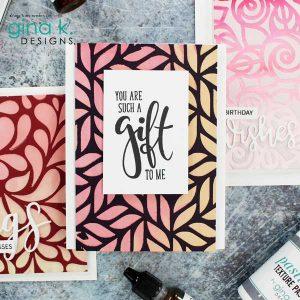 Gina K Designs Thick Brush Stencil class=