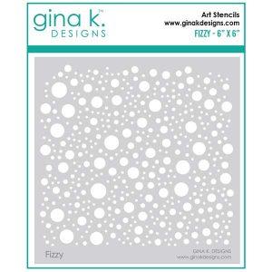 Gina K Designs Fizzy Stencil