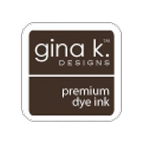 Gina K Designs Ink Cube – Charcoal Brown