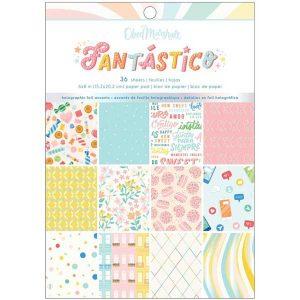 American Crafts Odeb Marshall Fantastico Paper Pad
