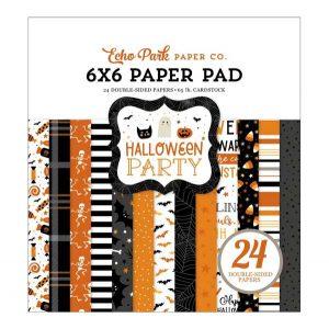Echo Park Halloween Party Paper Pad