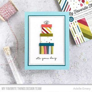 My Favorite Things Party Time Paper Pad class=