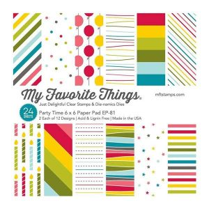 My Favorite Things Party Time Paper Pad