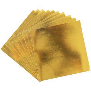 Sizzix Surfacez Aluminium Metal Sheets - Gold class=