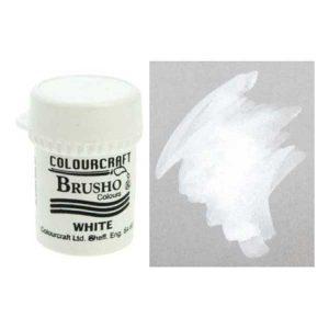 Brusho Crystal Color - White