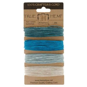 Darice Hemp Cord - Aquamarine
