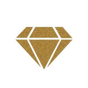 IZINK Diamond 24 Carats Glitter Paint - Gold class=