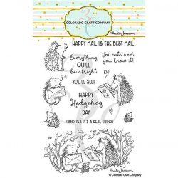 Colorado Craft Company Hedgehog Day Stamp