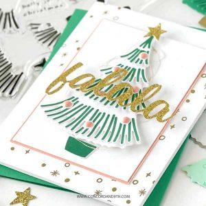Concord & 9th Fa La La Fringe Trees Stamp Set class=