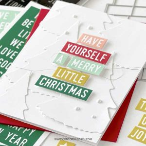 Concord & 9th Mix & Match Holiday Sentiments Stamp Set class=