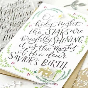 Concord & 9th O Holy Night Stamp Set class=