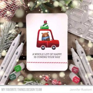 My Favorite Things Special Delivery Stamp Set class=