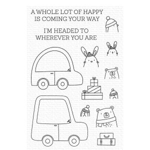My Favorite Things Special Delivery Stamp Set
