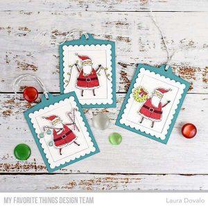 My Favorite Things Santa Sends His Love Stamp class=
