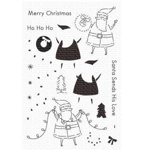 My Favorite Things Santa Sends His Love Stamp