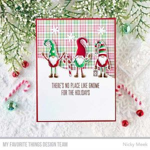 My Favorite Things Gnome for the Holidays Stamp Set class=
