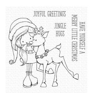 My Favorite Things TI Jingle Hugs Stamp Set
