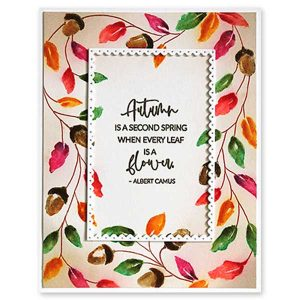 Penny Black Autumn Is Calling Stamp class=