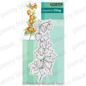 Penny Black Fall Flourish Slapstick/Cling Stamp