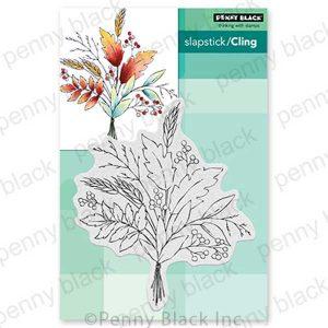 Penny Black Autumn Bouquet Stamp