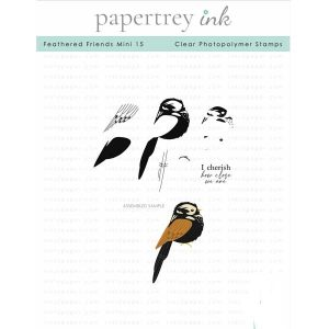 Papertrey Ink Feathered Friends Mini 15 Stamp