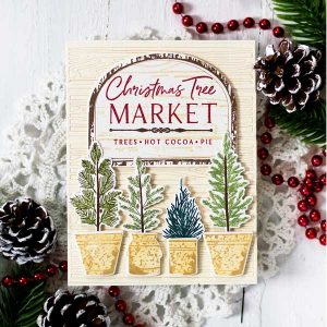 Papertrey Ink Farm Fresh Trees Stamp class=