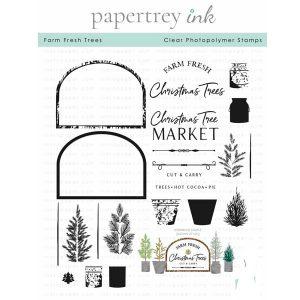 Papertrey Ink Farm Fresh Trees Stamp