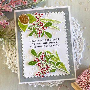 Papertrey Ink Sprigs & Sprays: Holiday Stamp class=