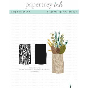 Papertrey Ink Vase Collection 4 Stamp