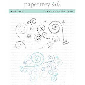 Papertrey Ink Winter Swirls Stamp