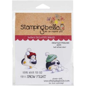 Stamping Bella Snowfight Penguins Stamp